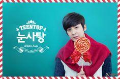 #틴탑 TEEN TOP #눈사탕 - CHUNJI