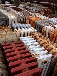 carpentrix:  In Union Square in Somerville, across the street from a Dunkin Donuts, cast iron radiators dominate a busy corner. We dropped one off last week, a three-hundred pounder removed from a kitchen we're renovating in Arlington. It felt like we were returning it to its family, that it would be welcomed into the rusting, paint-chipped crowd. They used to pay ten bucks when you dropped one off. Now it's nothing except a lighter load in the back of your truck, and a new member of the ...