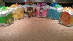 Mini- diaper cakes