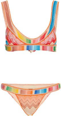 MISSONI RAINBOW PRINTED BIKINI SET
