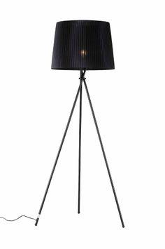Ellos Home Svart Golvlampa Tripod Lamp, Living Room, Lighting, Interior, Ben, Home Decor, Sort, Decorations, Decoration Home