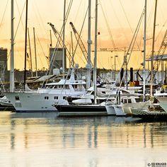 Auckland Sunset, New Zealand