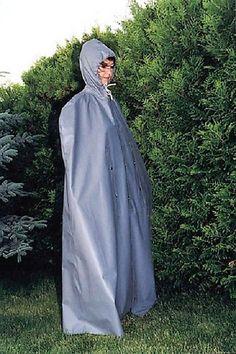 klepper rubber rain cape in kleidung accessoires kost me verkleidungen kost me ebay. Black Bedroom Furniture Sets. Home Design Ideas