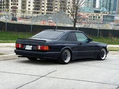 1988 AMG 560SEC 6.0L  WIDEBODY