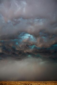 ✯ Gathering Storms...but blue sky beneath (: