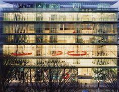 Toyo Ito. Sendai Mediatheque, Miyagi, Japan. 1995–2001. © Naoya Hatakeyama