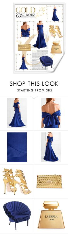 """""""Put a Bow on It!"""" by hilde-iii ❤ liked on Polyvore featuring Marchesa, Giuseppe Zanotti, Christian Louboutin, Cappellini, La Perla and bows"""