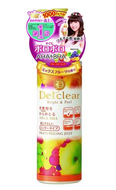Meishoku Delclear Bright and Peel Facial Peeling Gel - Mix Fruit 180ml *** Click image to review more details.