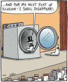 The magic of laundry.  The Argyle Sweater