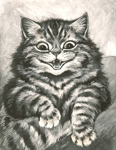 Louis Wain - Watch out for Tabby!
