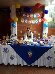 Mickey Mouse House, Fiesta Mickey Mouse, 2nd Birthday, Birthday Parties, Muppet Babies, Carnival Themes, Ideas Para Fiestas, Circus Party, Birthday Party Decorations