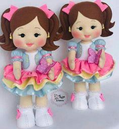Christmas Baby, Soft Dolls, Felt Toys, Diy And Crafts, Minnie Mouse, Disney, Projects, Handmade, Safari