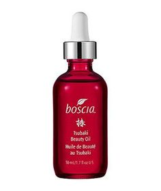 Boscia Tsubaki Oil: This botanical blend protects against free radical damage and hydrates without ever feeling greasy.