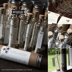 Message in Bottle Invitations