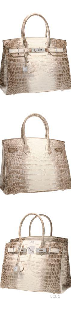 Hermès Himalayan Birkin Bag