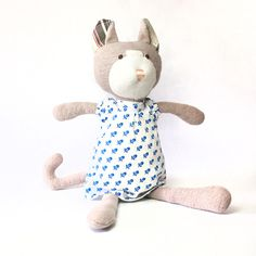 Gracie cat organic doll