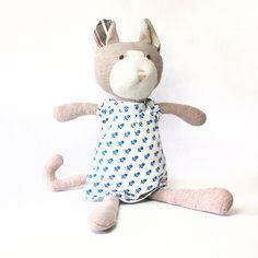 Gracie cat organic doll