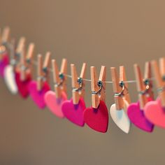 heart garland WANT L