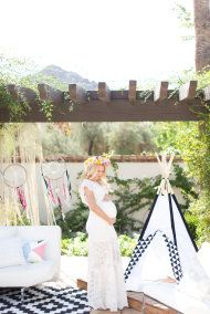 southwest inspired baby shower/maternity - Amy and Jordan Photography