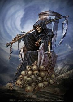 Harvester's Realm ~ Alchemy Gothic art #gothic #horror #darkness