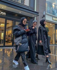 Pin by nadya febianti on hijab in 2019 winter jackets, jackets, winter. Modern Hijab Fashion, Street Hijab Fashion, Hijab Fashion Inspiration, Muslim Fashion, Mode Inspiration, Look Fashion, Entrepreneur Inspiration, Hijab Fashion Style, Modest Fashion Hijab