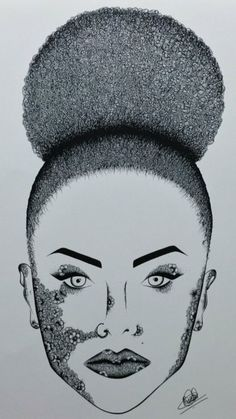 The original Afro image, by Prianka Bassi. (Photo: Twitter/@ItsHKayy