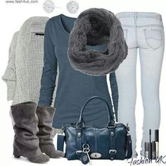 Great look for winter!