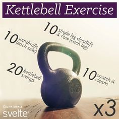 Happy #WorkoutWednesday! In need of a workout? Try this kettlebell exercise!