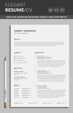 18 Best Resume Templates If you like this cv template. Check others on my CV template board :) Thanks for sharing! Resume Cover Letter Template, Resume Template Examples, Job Resume Examples, Best Resume Template, Resume Design Template, Cv Template, Resume Layout, Resume Cv, Resume Format
