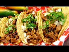 103 Tacos Eaten in 8mins (New World Record) - YouTube
