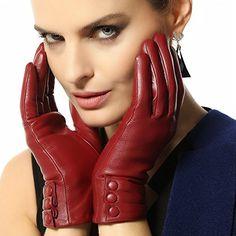 Bestselling Women's Winter Warm Nappa Leather Gloves (Plush/cashmere Lining) (Large ( Run small ), Burgundy (Traditional Long fleece lining, Non-touchscreen, Run small)) WARMEN http://www.amazon.com/dp/B00RMKZPCO/ref=cm_sw_r_pi_dp_JiFSub1AJASPK
