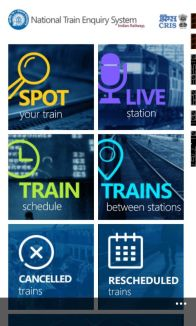 Indian Railways Launches The National Train Enquiry System (NTES) App screenshot 5