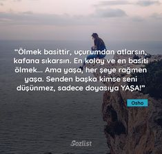 #osho #sözleri Osho, Meaningful Sentences, Black Love, Karma, Poems, Wisdom, Feelings, Sayings, Nyx