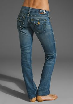True Religion Billy Straight Leg