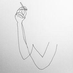 Woman smoking - Etude #draw #drawing #instadraw #art #fineart #instaart #woman…