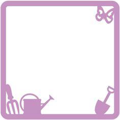 Silhouette Design Store - View Design #29817: gardening card