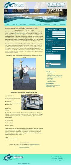 What you can expect in a days fishing in Cabo San Lucas:      Personalized service     English speaking crew     Clean, efficient, well maintained boats      Penn International Reels     Custom Rods     State-of-the-art tackle and equipment     Fighting chair(s)