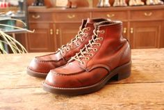 REDWING 875 Vibram700 Brown | BRASS BLOG