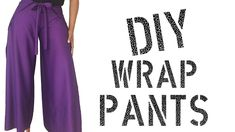 Hello my unique Queens I have another do it yourself tutorial. This easy and quite fashionable wrap pants are both quick and affordable to make. If you found...
