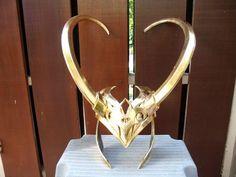 Helmet Adult Loki Lady Thor Movie Avenger Movie Costume Cosplay Prop Replica | eBay