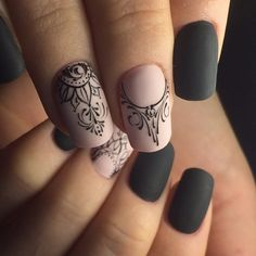 35 Gel Nägel Sommer 2018 – Nageldesign, You can collect images you discovered organize them, add your own ideas to your collections and share with other people. Lace Nail Art, Lace Nails, Cool Nail Art, New Nail Art Design, Best Nail Art Designs, Salon Design, Fun Nails, Pretty Nails, Mandala Nails