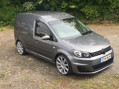 My Caddy on wheels and gti front Volkswagen Caddy Van, Volkswagen Touran, Volkswagen Germany, Mk1 Caddy, Gti Mk7, 20 Inch Wheels, Vanz, Camper, Vw Vans