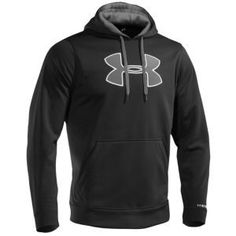 Men's Under Armour Fleece Storm Big Logo Hoodie Sz MEDIUM, LARGE, or XL XLARGE