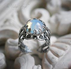 Moon Opal Ring