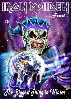 Black Metal, Heavy Metal Art, Heavy Metal Bands, Bruce Dickinson, Hard Rock, Power Metal, Rock Posters, Concert Posters, Music Posters