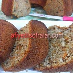 Havuçlu Tarçınlı Kek Tarifi - Afiyetli Sofralar - Yemek Tarifleri