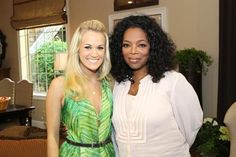 New picture of Carrie Underwood and Oprah