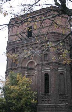 Минская неогитеческая водонапорная башня на Железнодорожной