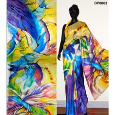 Bankura (bishonpur) Silk Hand Painted Saree. MADE on ORDER. 4 WEEKS DELIVERY TIME pd0063