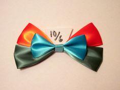 Mad Hatter Hair Bow Alice in Wonderland Disney Inspired. $8.50, via Etsy.